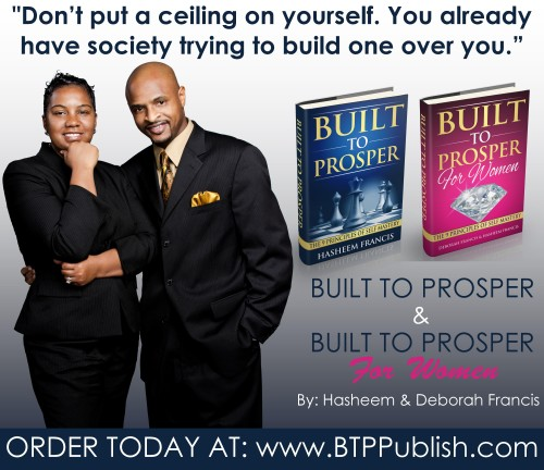 Built To Prosper Books Marketing